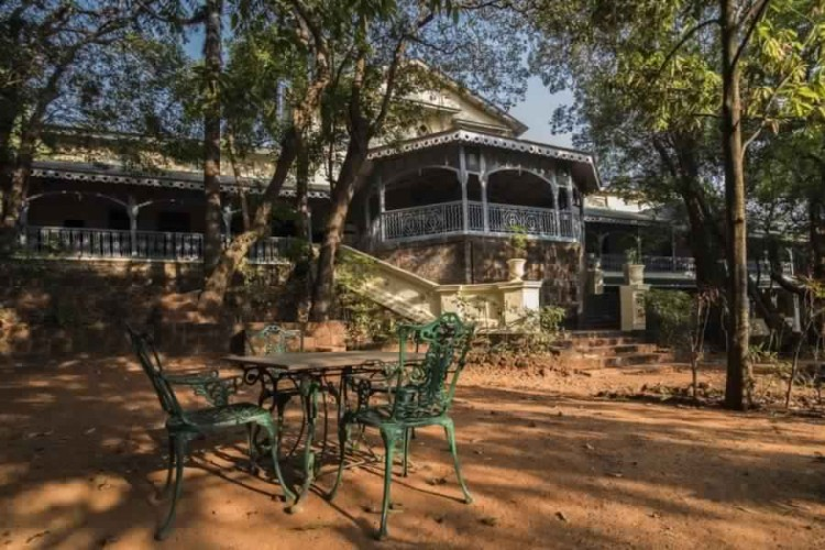 Dune Barr House - Verandah In The Forest Matheran